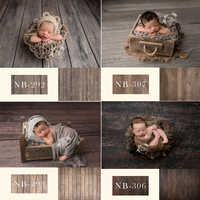 Newborn Backdrop for Photography Baby Shower Birthday Party Wood Floor Photo Background for Children Studio