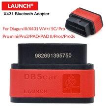 Diagun III/X 431 V/V +/5C/PRO/PRO3/PAD/PAD II/Pros/Pro3S (easydiag 아님) 용 Bluetooth 커넥터 X431 DBScar 어댑터 출시