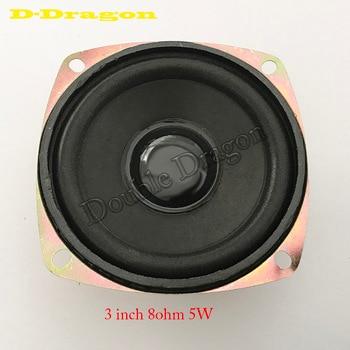 100pcs/lot  3inch circular 8ohm 5W speaker for arcade game machine-arcade machine parts/game machine accessory