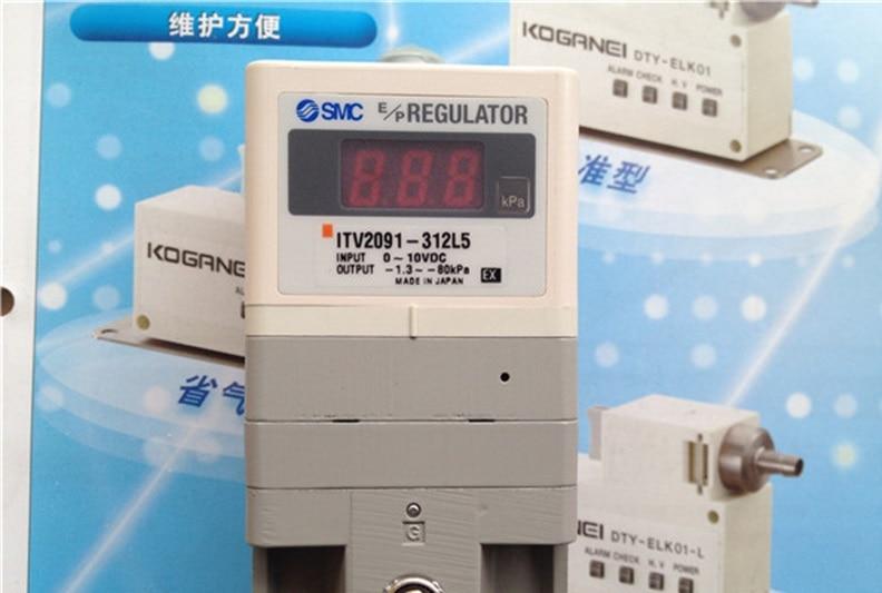 BRAND NEW JAPAN SMC GENUINE E / P REGULATOR ITV2091-312L5 все цены