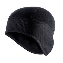 Unisex Winter Cycling Cap Windproof Warm Polar Fleece Thermal Helmet L