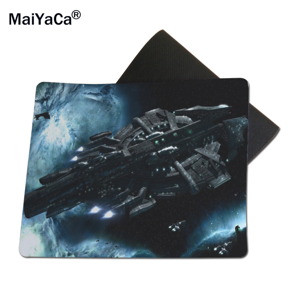 MaiYaCa Eve Online Mouse Mats Computer Laptop Notbook 18*22cm and 25*29cm