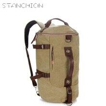 DUDINI Vintage Classic Canvas Bagpack Backpacks Women Men Travel Big Capacity Bag Pack Korean Designer Backbag Rucksack