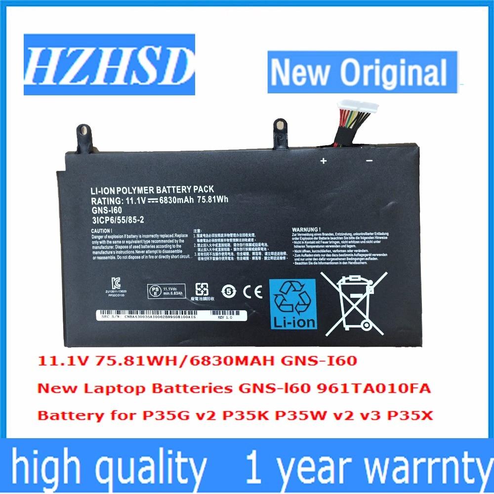 11 1V 6830mAh 75 81Wh new Original GNS I60 Laptop font b Battery b font for