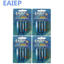 hot deal buy wholesale 4 x eaiep bateria aaa batteries ni-mh 800mah low-self discharge aaa rechargeable 3a battery batteries for microphone