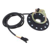 Elektrische Fahrrad Pedal 12 Magneten E bike PAS System Assistent Sensor Geschwindigkeit Sensor Schwarz Farbe Einfach zu Installieren Whosale & Dropship-in E-Bike Zubehör aus Sport und Unterhaltung bei