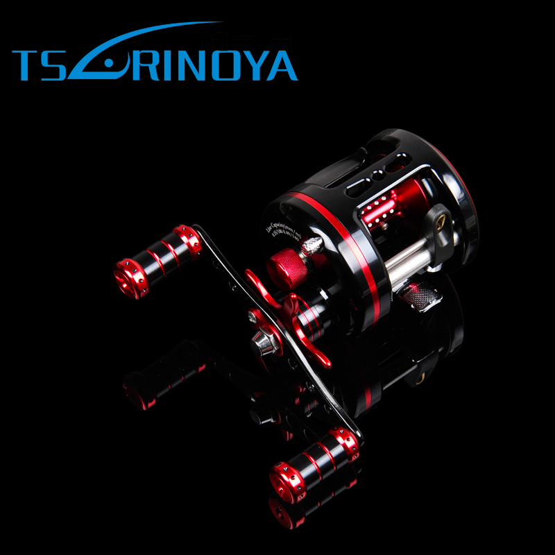 Tsurinoya Max Drag 7kg Full Metal Fishing Reel 8+1BB 5.3:1Bait Casting Reels Lure Tackle Fishing Reels Drum Reel rover drum saltwater fishing reel pesca 6 2 1 9 1bb baitcasting saltwater sea fishing reels bait casting surfcasting drum reel