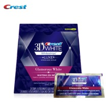 Crest 3D WHITE Glamorous White Whitestrips Teeth Whitening Intensive professional Tooth Whitener Oral Care 14treatments/28strips