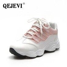 Hot QEJEVI GYM Sports Training Shoes Women Winter Walking Athletic Sneakers Platform Brand Sport Shoes Female Ladies Shoes