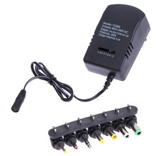 30W Universal AC Wall EU Plug in Power Adapter 3V 4.5V 5V 6V 7.5V 9V 12V 2.5A Charger with 6pcs Tip Switching Power Supply(China)