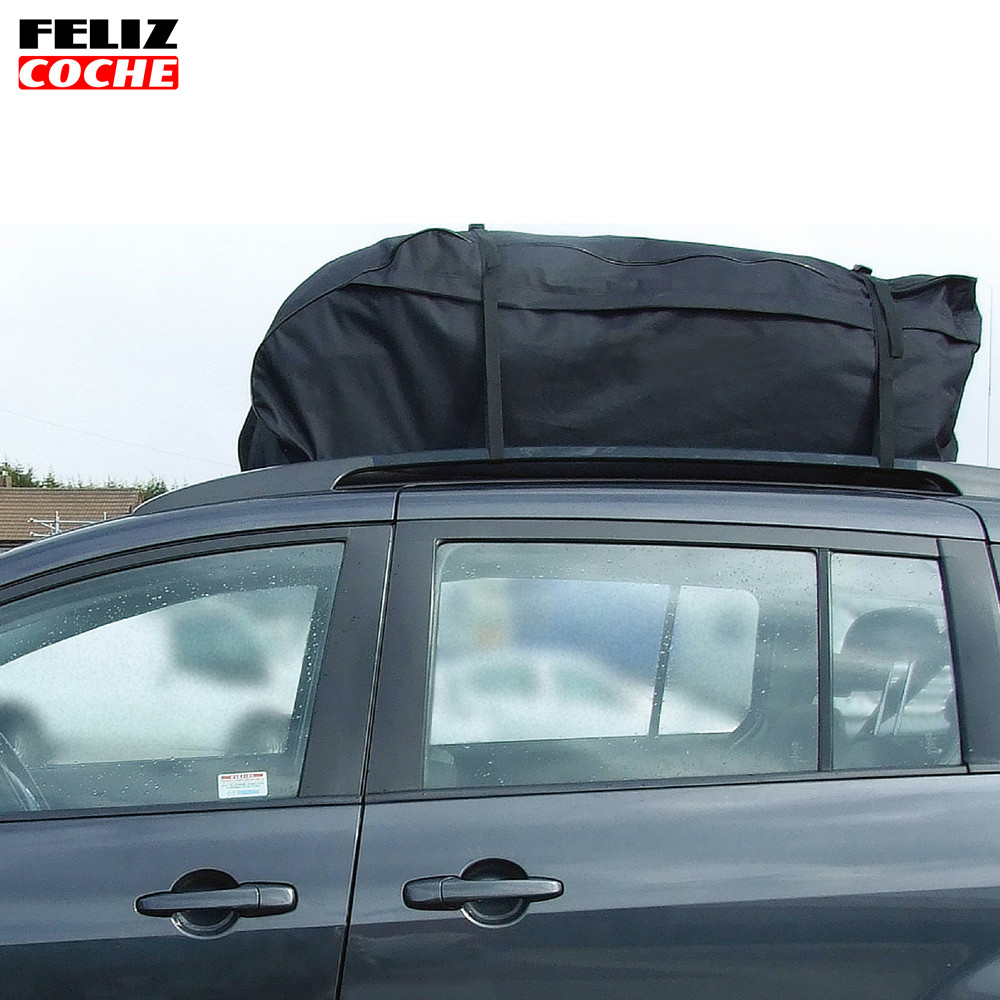 Universal 295L Roof Top Cargo Carrier Bag Roof Top Waterproof Luggage Travel Cargo Rack Storage Bag Carrier A2121 partol universal car roof rack cross bars crossbars with anti theft lock 60kg 132lbs cargo basket carrier snowboard luggage top