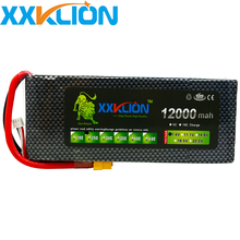 XXKLION drone Lipo battery pack 7.4v 12000mAh 25C 2S for rc airplane Aerial multi - axis unmanned aerial vehicle Free Shipping mos 11 1v 5200mah 25c lipo battery for rc airplane free shipping