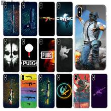 Babaite pubg und csgo Coque Shell Telefon Fall für iPhone X XS MAX 6 6S 7 7plus 8 8Plus 5 5S XR für fall(China)