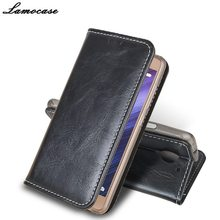 Бренд lamocase Роскошные Флип кожаный чехол для Lenovo Vibe C2 K10A40 5.0 «кожаный бумажник чехол подставка для Lenovo c 2 Чехол принципиально