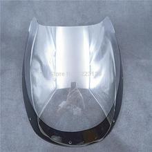 Мотоцикл лобовое стекло Ветер Дефлектор для Yamaha rzv500 RZV500R RZ500 RD500LC 1984-1986