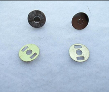 Wholesale 100sets /lot 10mm Silver Tone Magnet Snaps for Handbag/Leather Craft , Clothes Magnetic Button