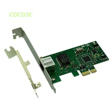 Computer 1000Mbps Gigabit Ethernet Network Controller Card PCI e to RJ45 Lan Adapter Converter with Low