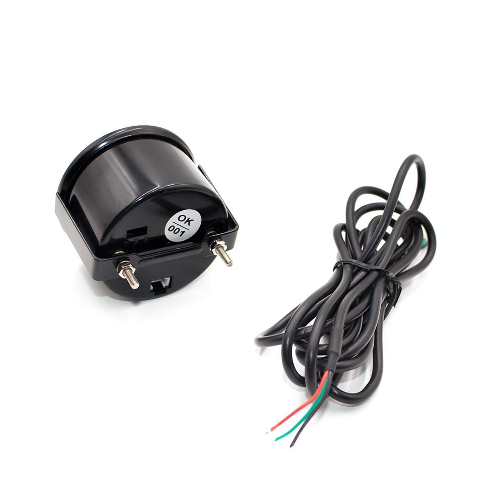 Brand New 2 quot 52mm EVO 7 Colors LCD Voltmeter Voltage gauge 8 18V Volt Meter Car meter YC100114 in Volt Meters from Automobiles amp Motorcycles