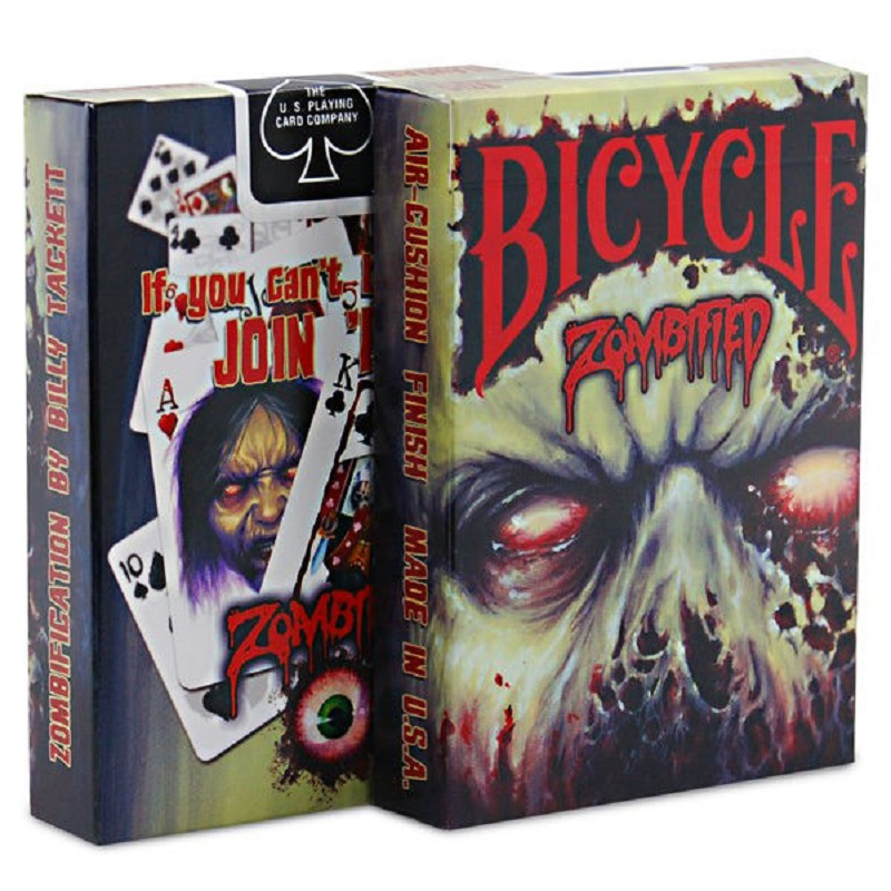 Bicycle Zombified Playing Cards Bicycle Zombie V3 Deck Collectible Poker USPCC Magic Cards Magic Tricks Props for Migician