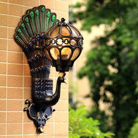 Promotion Outdoor Waterproof Wall Lamp European Archaize Porch Light Balcony Waterproof Lighting Corridor led Exterior Wall Lamp