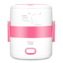 220V Electric Lunch Box Portable Rice Cooker mini Heated Lunchbox multi Multi-steaming method kitchen Cooking stainless steel цена и фото