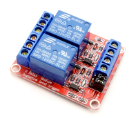 2 Road 12V Relay Module With Optical Coupling Isolation Support High and Low Level Trigger Two-way Relay Module 2 - Channel