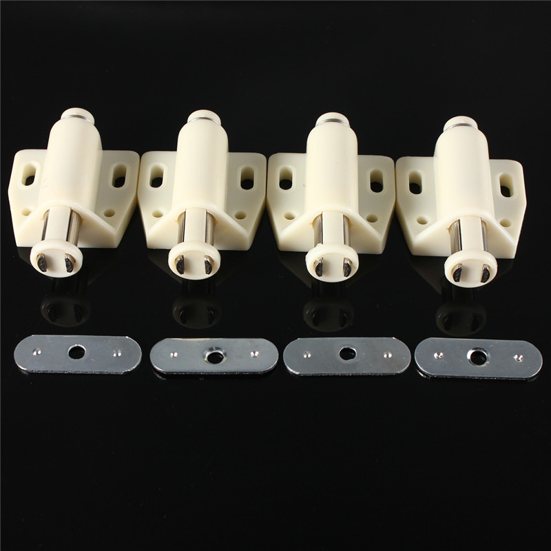 Lowest Price 4pcs Push To Open Magnetic Door Drawer Cabinet Catch Touch Latch Cupboard Home 55x36mm push to open beetles drawer cabinet latch catch touch release kitchen cupboard new arrival high quality