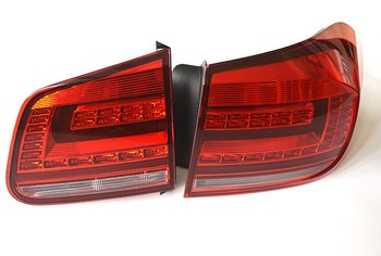 Qirun Car styling for Volkswagen Tiguan 2013-2015 rear lamp, brake light, daytime running light,reversing signal fog lamp