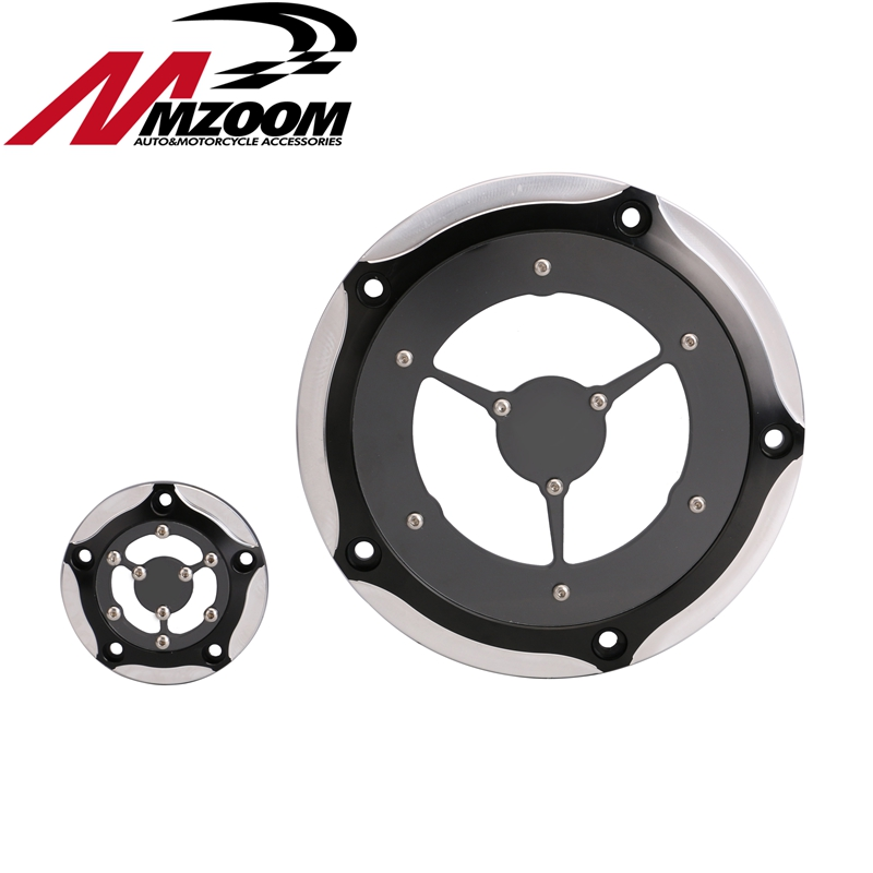 Motorcycle Accessories New Transparent Cover Derby & Timer Timing CNC Deep Cutting motorcycle accessories derby cover