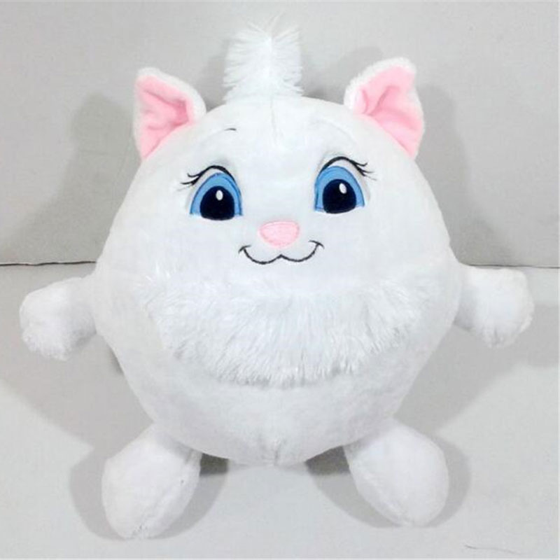 25cm Aristocats Marie Cat Plush Toy White Cat Stuffed Doll For Kids Gifts