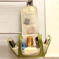 Travel Folding Large Capacity Toiletry Purse Organizer Hanging Wash Makeup Cosmetic Bag Portable NB0112