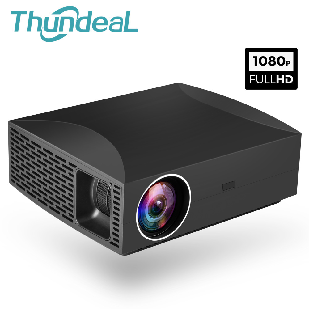 ThundeaL Full HD Projector F30 Native 1920x1080 5500Lumen 3D font b Video b font LED LCD