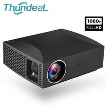 ThundeaL проектор Full HD F30 родной 1920×1080 5500 люмен 3D видео светодиодный ЖК-дисплей дома Кино Театр HDMI смарт проектор дополнительно F30 до