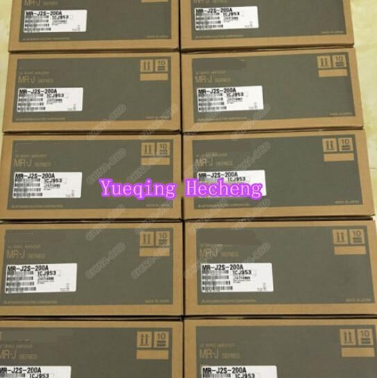 1PC AC Servo Amplifier MR-J2S-200A PLC New In Box For New new original mr j2s 40b 220vac 400w ac servo drive
