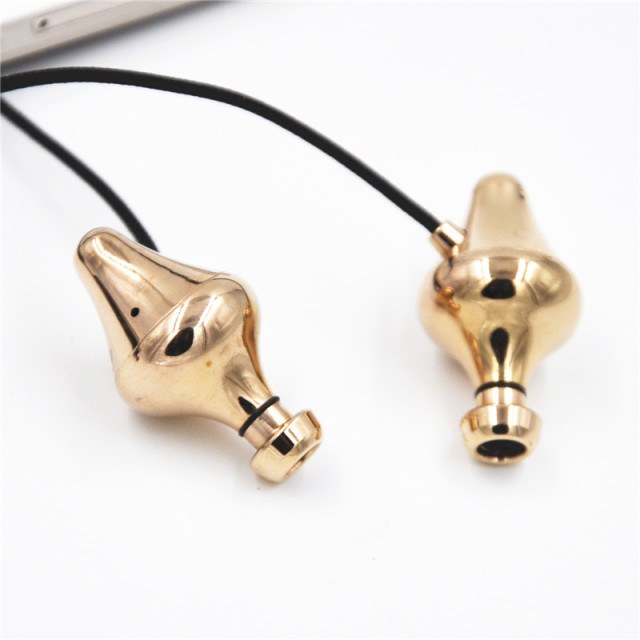2015 Super Bass DIY Music Headset Friday Earphone Tingo GX10 Final Audio Design Piano Forte Gold Chamber Pot Earbuds