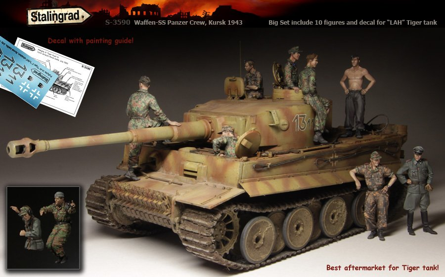 SL 3590 1/35 World War II German Armed Forces SS Panzer Armored Squad world war ii german wwii wehrmacht