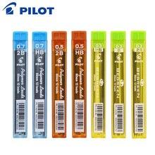 PILOT Polymer Lead 6 Tubes/lot Mechanical Pencil Refills 0.3 mm/0.5 mm/0.7 mm 60mm 2B/HB PPL-3/5/7