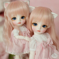Free Shipping 1/6 BJD Doll BJD/SD Cute Lovely Lina Daisy For Baby Girl Birthday Gift Present With Glass Eyes