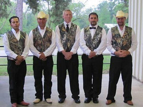 Simple Camo Men's Wedding Groom Wear Mossy Oak Camouflage Mens Tuxedo Vests Camo New Custom Made Size And Color Men Waistcoat