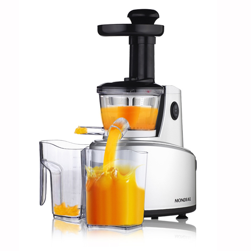 New MONDIAL Original Juice Machine Household Slowly Juicer 68Rpm/min Electric Juice Extractor Juice Maker цены