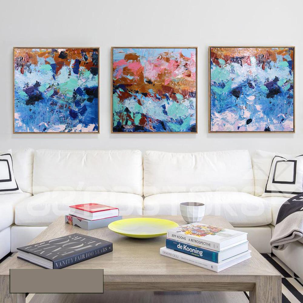 muya pea pinturas decorao da parede de acrlico azul turquesa pintura a leo pinturas sobre