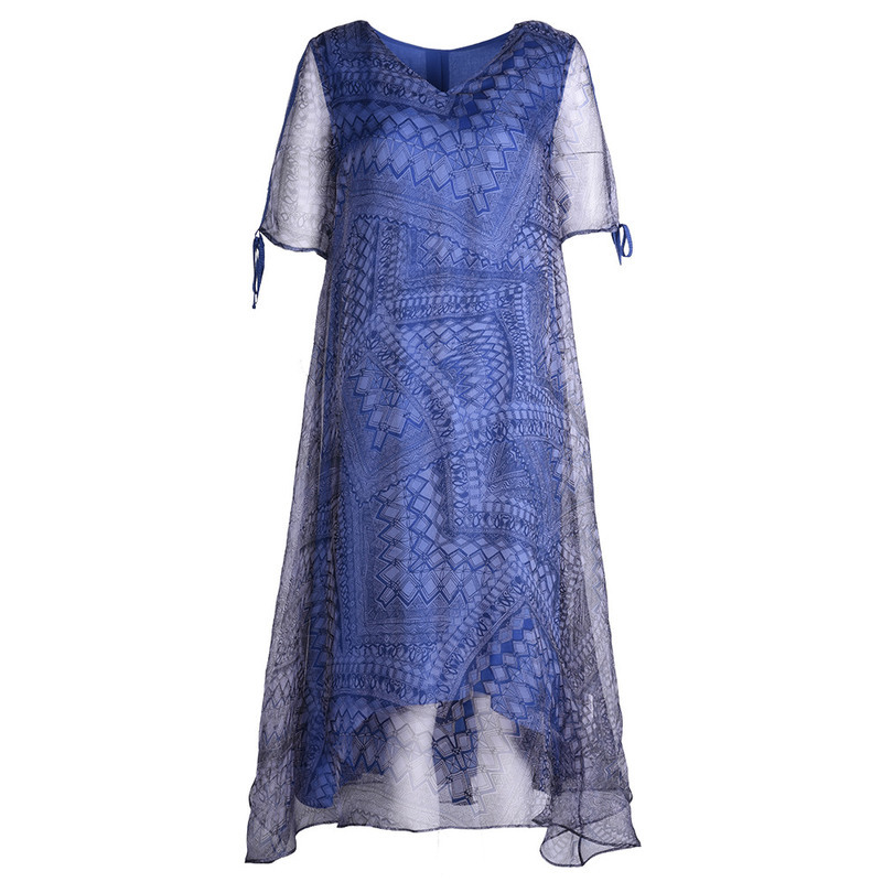 2019 summer beach style dresses new European and American fashion temperament women's large size loose dress