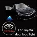 LLEVÓ la Luz de Puerta de Coche Bienvenido Logo Proyector Sombra del Fantasma de Luz para Toyota Previa Corolla Prius Highlander TUNDRA Alohard GT 86