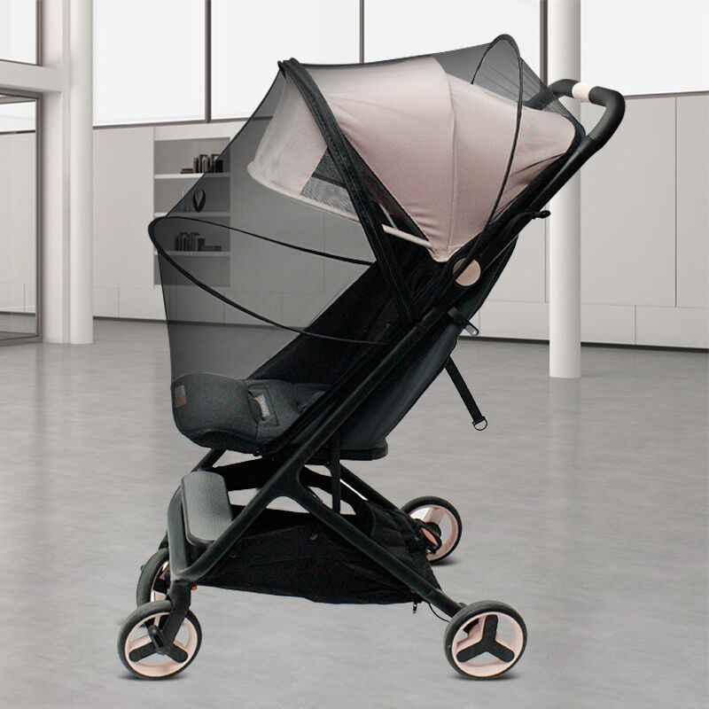 Uniwersalne akcesoria dla wózków dziecięcych moskitiera do wózka wysokiego krajobrazu GB Pockit wózek yoyaplus wózek i więcej
