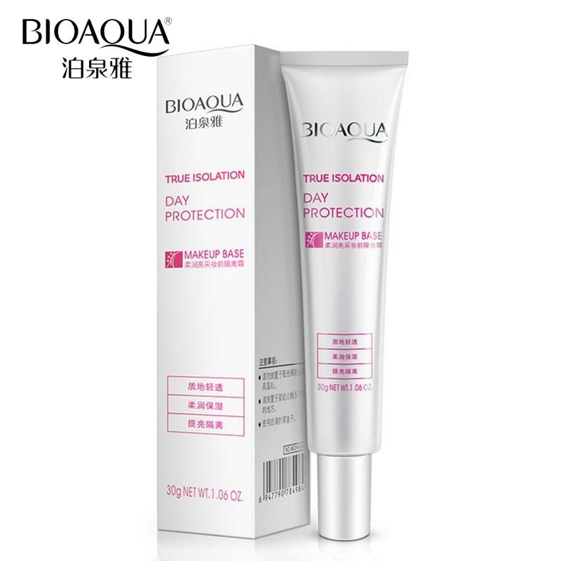 BIOAQUA Brand Professional Face Primer Makeup Base Liquid Foundation Oil control Moisturizing Whitening Concealer Primer