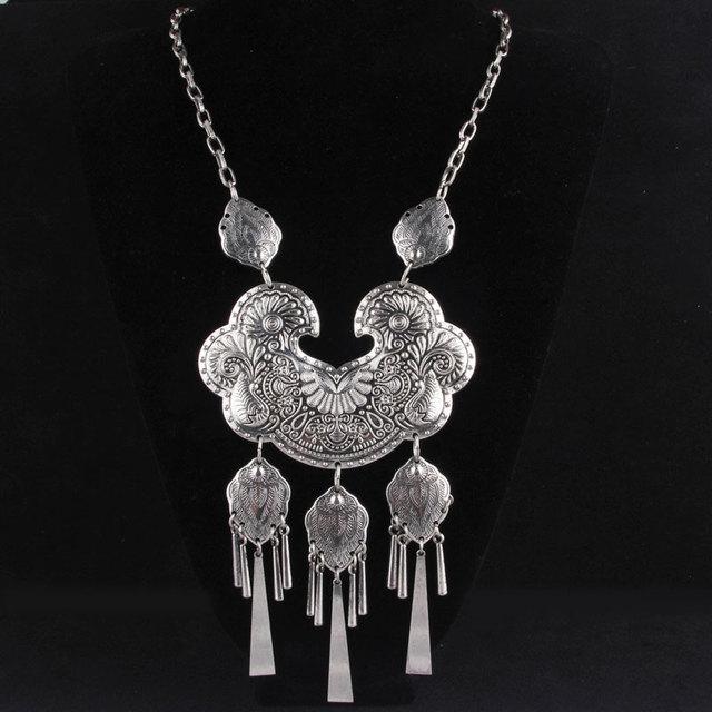 Miao Silver Collars Pendant...