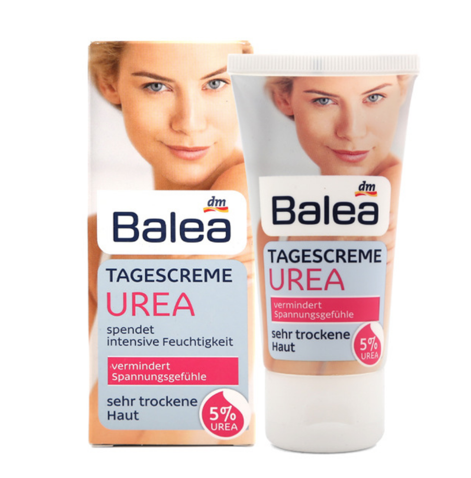 Quality Balea Urea Day Cream with 5% Urea Cream for Very Dry Skin Intensive moisture Gentle Soothing care Pleasant skin feeling image