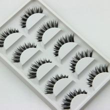 5 Pair/Lot Crisscross False Eyelashes