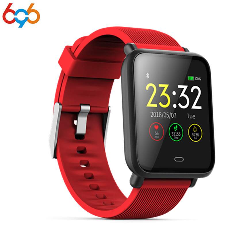 696 Smart uhr Q9 Wasserdichte IP67 fitness tracker Herz rate/blutdruck Bluetooth 4 smartband Pk xiaomi mi band 2 3
