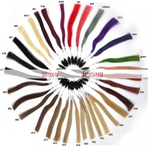 Hair Color Ringcolor Wheel Chart With 32 Colors For Human Hair